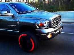 Truck Red Decals Tire Stickers Com
