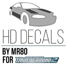 Nfsmods Nfsu2 Hd Decals By Mr80