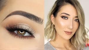 natural glam eye makeup saubhaya makeup