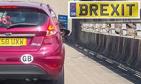 Uk Cars Need To Display Gb Stickers When Visiting Republic Of Ireland After Brexit This Is Money