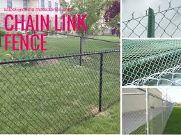Black Pvc Coated Chain Link Panels Cyclone Fence 1 5m 10m 60mm 3 5mm For Sale Chain Link Fencing Manufacturer From China 109092289