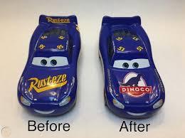 custom disney pixar cars 3 1 55 dinoco