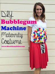 diy bubblegum machine costume