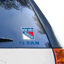 New York Rangers Car Decals Rangers Bumper Stickers Decals Fanatics