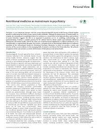 pdf nutritional cine as mainstream