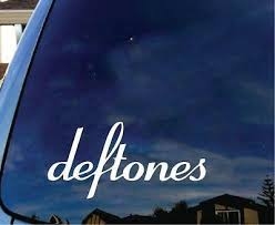 Deftones Vinyl Decal Sticker Car Truck Laptop Guitar Rock Heavy Metal Band Ebay