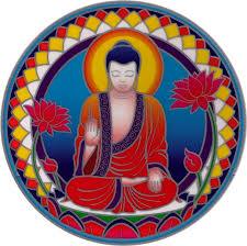 Buddha Nature Window Sticker Decal Peace Resource Project