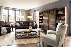 hadley sofa eclectic living room