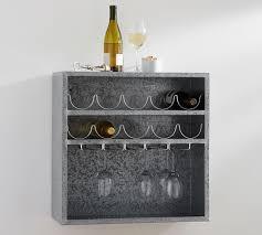 antique modular wine and glass storage