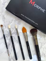 gingham and sparkle morphe brushes