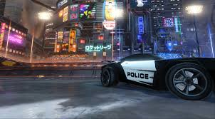 Police Car Decal For Dominus Rocket League Mods