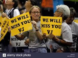SilverStars fans express their appreciation for Vickie Johnson ...
