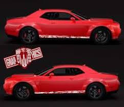 Vinyl Decals For Dodge Challenger Srt Stickers Challenger Decals