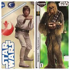 2 Fathead Luke Skywalker Chewbacca Wall Decals Fathead 9292004 9292013 More 10002890622 Ebay