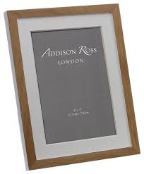 contemporary wood picture frame