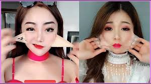 chinese makeup before and after