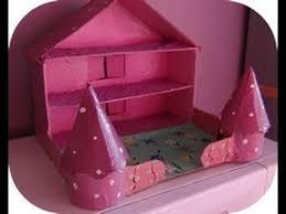 maison en carton activité manuelle