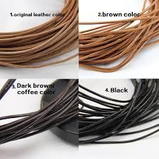 2mm leather cordgenuine leather string