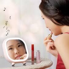 light makeup mirror with bluetooth
