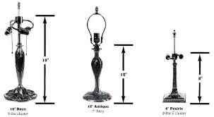 lamp bases 13 17 5 anything in