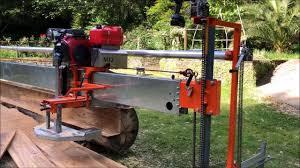 the mive 12 cut swing blade sawmill