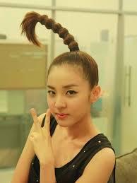 signature hairstyles of 2ne1 s sandara park