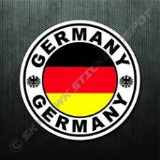 Germany Flag Vinyl Decal Sticker Car Bumper Adhesive Europe Berlin Munich