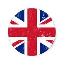 Uk British Great Britain England English Flag Classic Round Sticker Zazzle Com In 2020 English Flag England Flag Old School Tattoo Designs