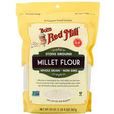millet flour whole grain 20 oz 567 g