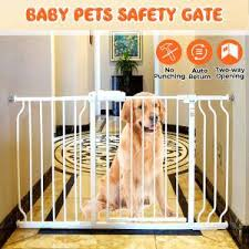 Super Sale 1eaec1 Baby Pet Safety Gate Children Protection Security Stairs Door Fence For Kids Safe Doorway Gate Pets Dog Isolating Fence Product Cicig Co