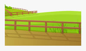 Transparent White Fence Png Fence On Grass Clipart Free Transparent Clipart Clipartkey