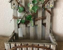 Fence Plant Holder Etsy
