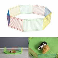Pet Supplies Outdoor Pet Playpen Animal Cage Dog Fences Enclosure Small Puppy Play Yard Crate Small Animal Cages Enclosures Hypewell Com