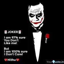 🃏joker🃏 i am % sure quotes writings by mrs ram