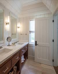 craftsman style cottage bathroom design