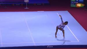 Simone Biles Floor Event Finals 2019 ...
