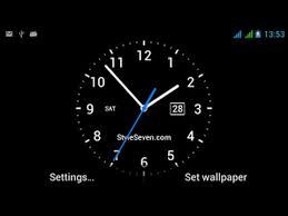 set live og clock on your android
