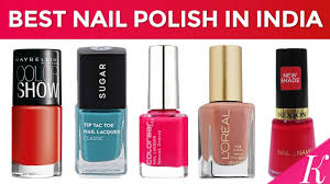 9 best nail polish brands in india with