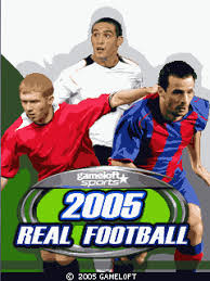 2005 real football java game