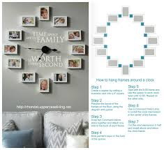 Time Spent With Family Clock And Instructions How To Hang Uppercaseliving Clock Timespentwithfamily Quoteq Family Wall Decals Family Clock Family Wall Art