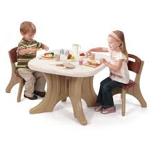 New Traditions Table Chairs Set Kids Table Chairs Set Step2