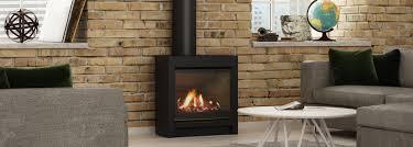 escea fs730 gas fireplace including console