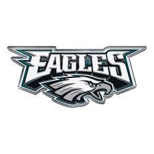 Philadelphia Eagles Auto Emblem Color Alternate Logo Sports Fan Shop