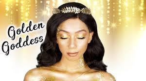 golden dess makeup tutorial