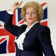 NEW DATE – Lesley Smith as Margaret Thatcher 'The Iron Lady' | Warwickshire  Federation of WIs