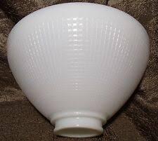 milk glass ies reflector lamp shade