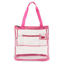 in bulk whole clear tote bags