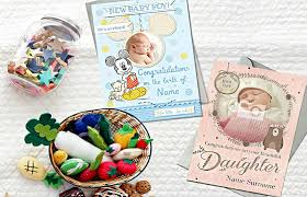 what to write in a new baby card best