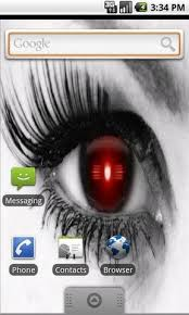 cray droid eye live wallpaper android