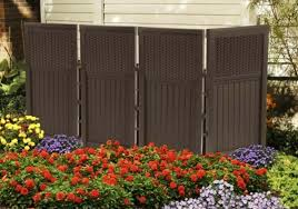 Privacy Yard Screen Enclosure 4 Outdoor Panel Dividers Hide Pool Trash Can Ac For Sale Online Ebay